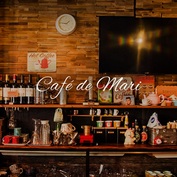 Cafe de mari店内